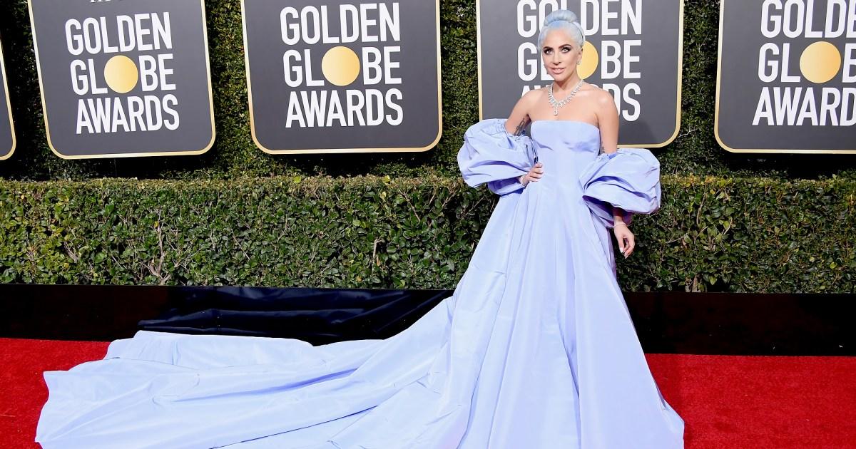golden globes 2019 red carpet fashion see celeb dresses