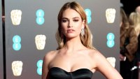 Get Tressed with Us lily james british academy of film and television arts