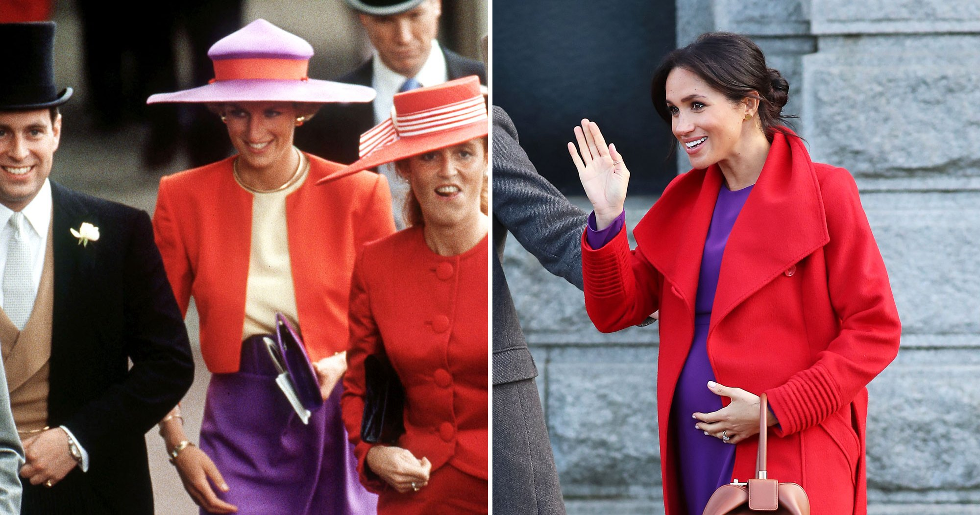 Every Time Meghan Markle Paid Tribute to Princess Diana Through Fashion