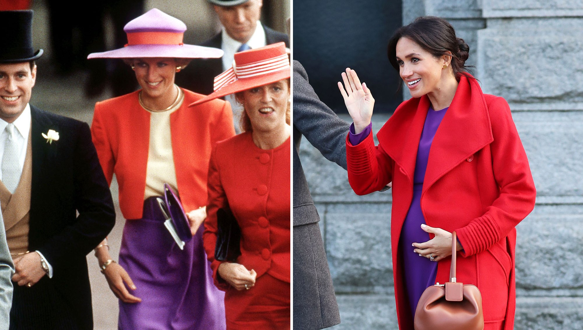 Every Time Meghan Markle Paid Homage to Princess Diana Through Style