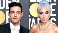 Rami Malek Basically Bows to Lady Gaga as He Meets Her Inside the Golden Globes 2019