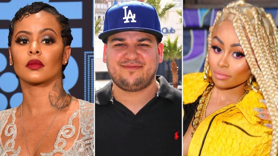 Alexis Skyy Writes 'I Love Rob' Kardashian After Fight With Blac Chyna