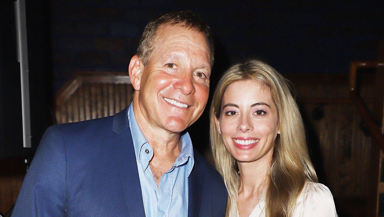 Steve Guttenberg and Emily Smith