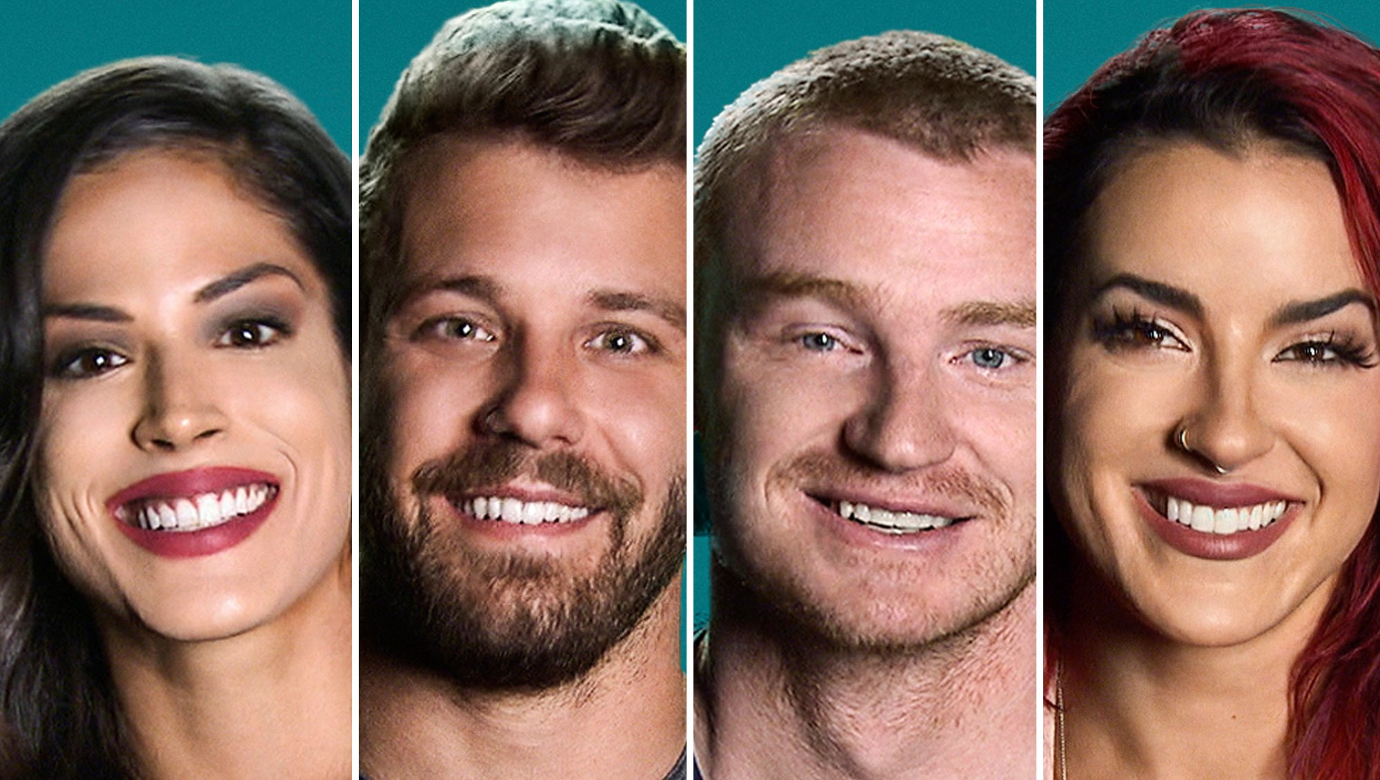 Nany, Paulie, Wes and Cara the challenge