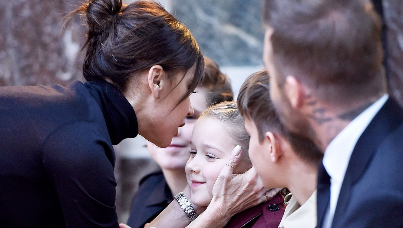 7-Year-Old Harper Beckham Gets a Clean Product Facial From Dr. Barbara Sturm
