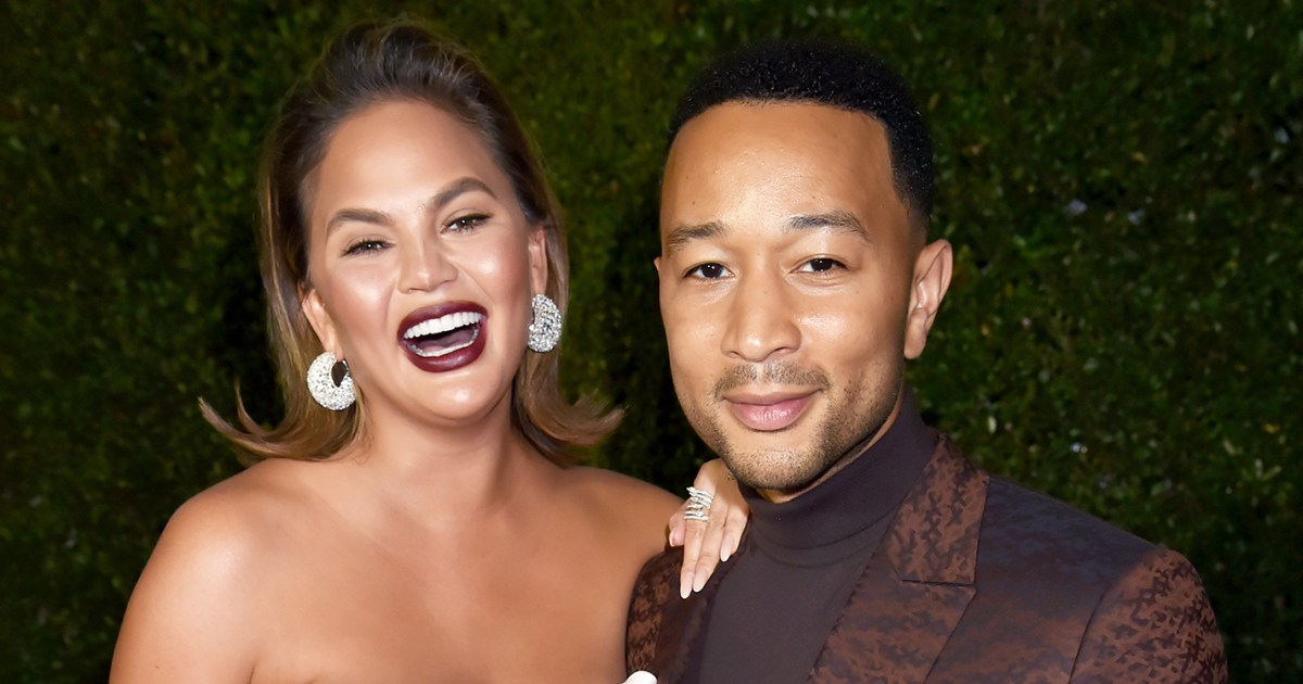 Chrissy Teigen, John Legend's Son Is 'Close' to Saying First Word