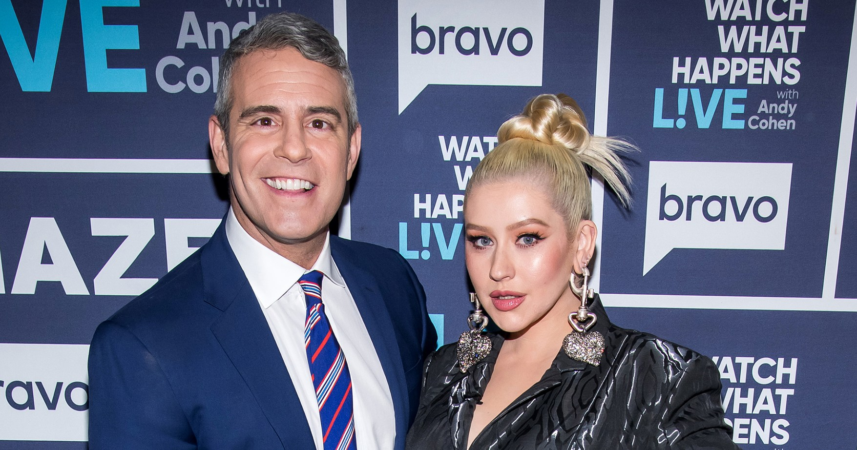 Christina Aguilera Sends Andy Cohen's Son Chaps, 'Dirrty' Diapers