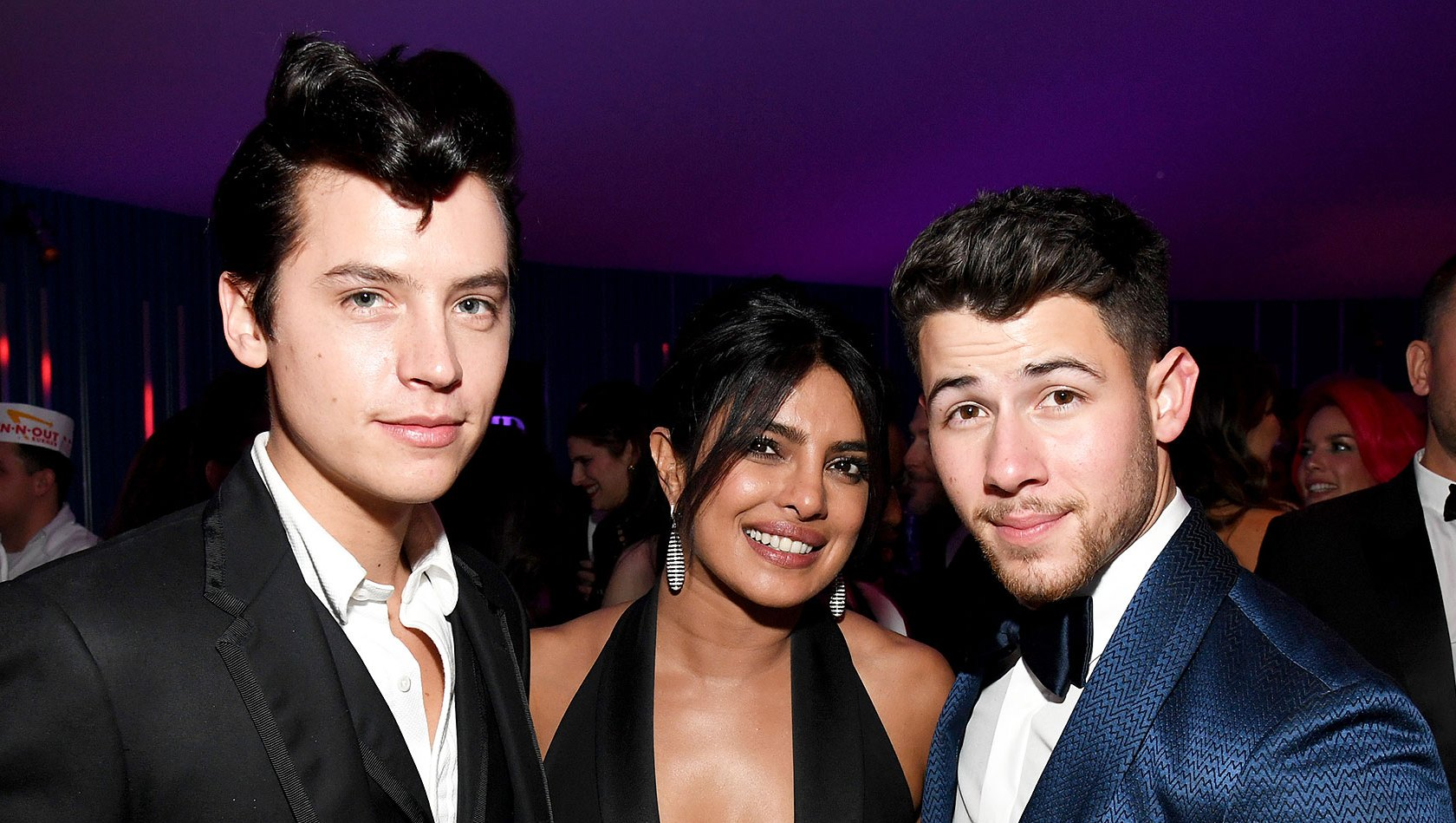Oscars 2019 Afterparty Cole Sprouse Priyanka Chopra Nick Jonas