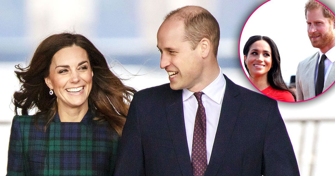 Duchess Kate, Prince William Congratulate Meghan, Harry on Baby