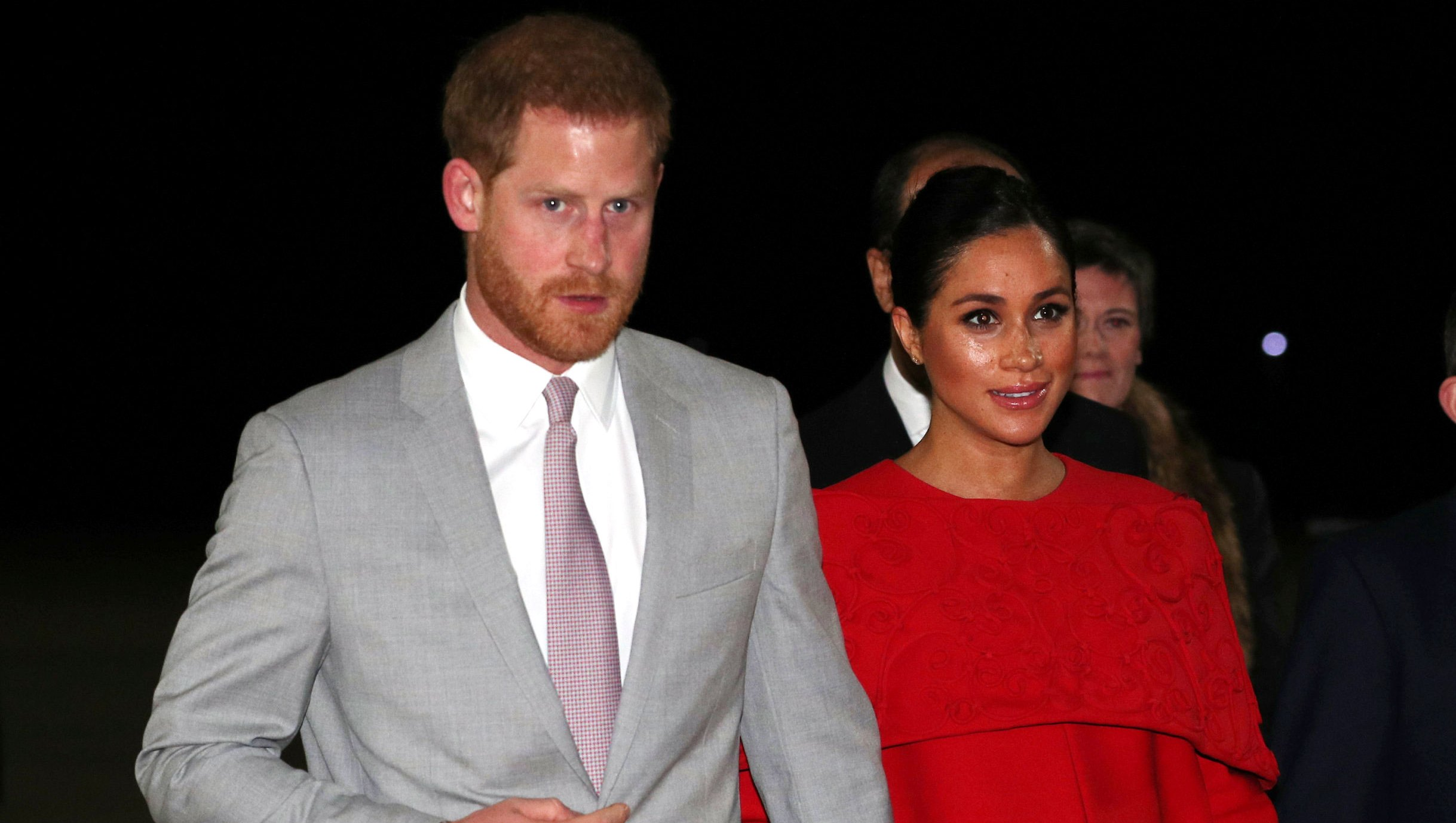 Duchess Meghan and Prince Harry Arrive in Morocco