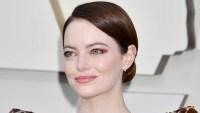 Emma Stone Oscars Hair