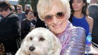 Glenn Close's Dog Joins Her on Stage as She Wins Independent Spirit Award