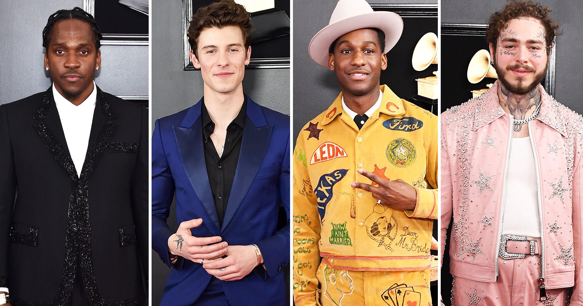 Grammys 2019 Red Carpet Fashion: Hot Guys in Suits and Tuxes