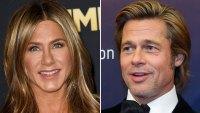 Jennifer Aniston Is 'Happy' Ex-Husband Brad Pitt Attended Her 50th Birthday Party