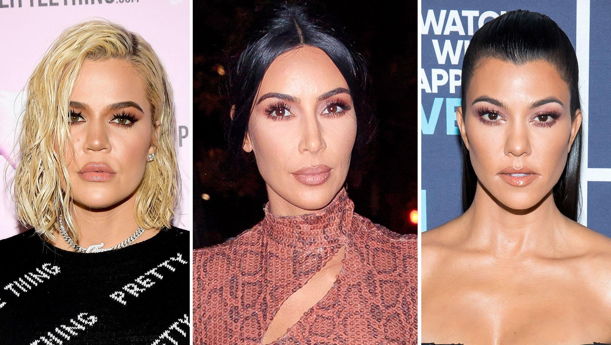 Khloe, Kim and Kourtney Kardashian Head to Palm Springs Amid Drama With Jordyn Woods and Tristan Thompson