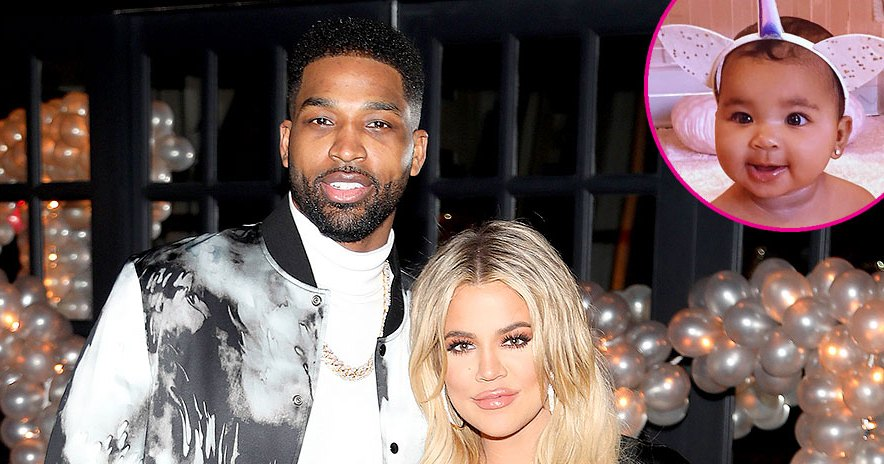 Khloe Is Trying to Get Along With Ex Tristan for Daughter True