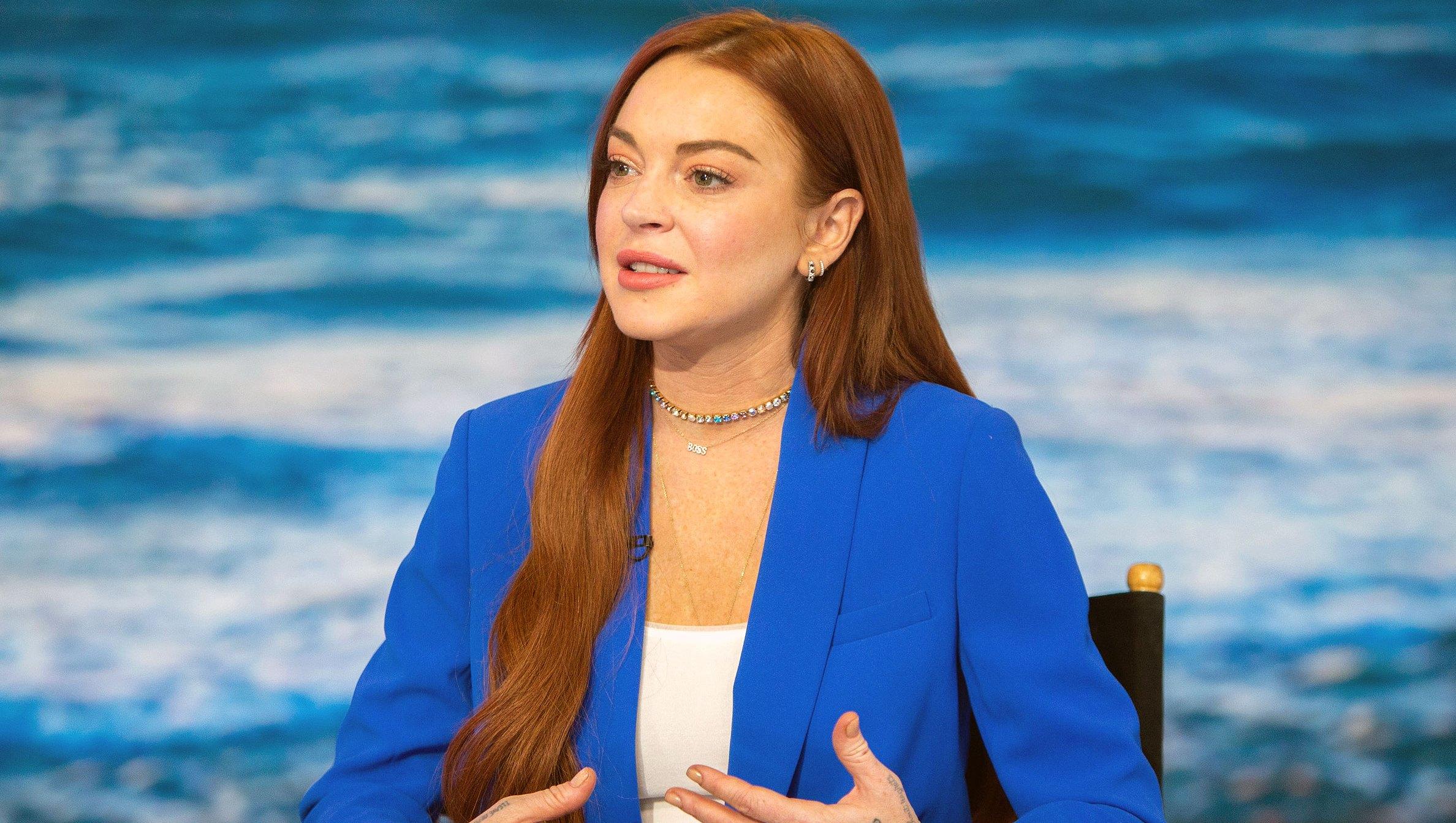 Lindsay Lohan Denies Slamming CBS After Dina's 'Big Brother' Stint-1
