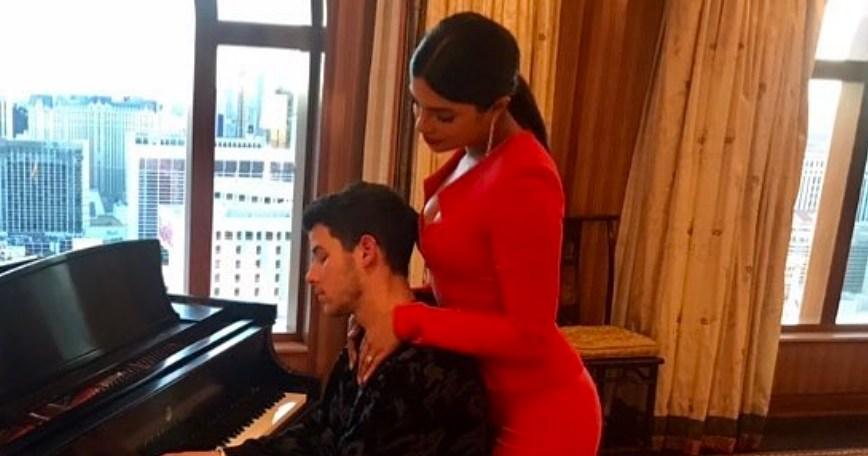 Nick Jonas Fawns Over Wife Priyanka Chopra Jonas on First Married Valentine's Day: 'How Lucky Am I'