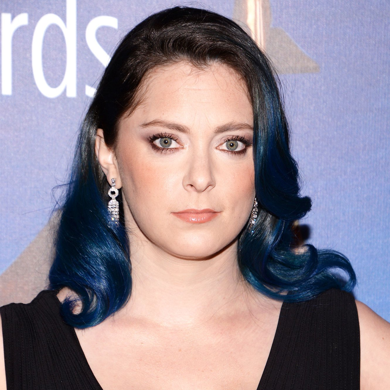 Rachel Bloom's Blue-Dipped Look Is the Latest Star Hair Change-Up