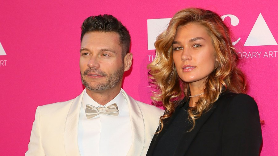 Ryan Seacrest's Ex GF Shayna Posts About Pain After Their Split