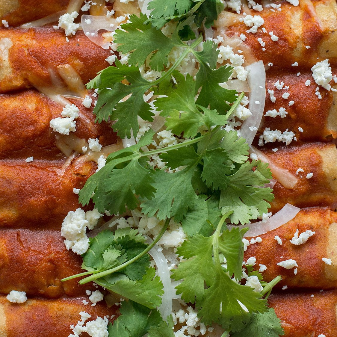 Spice-It-Up-With-This-Black-Bean,-Kale-and-Sweet-Potato-Enchiladas-Recipe
