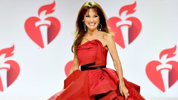 Susan Lucci, 72, Falls But Recovers Like a Pro on the American Heart Association NYFW Runway