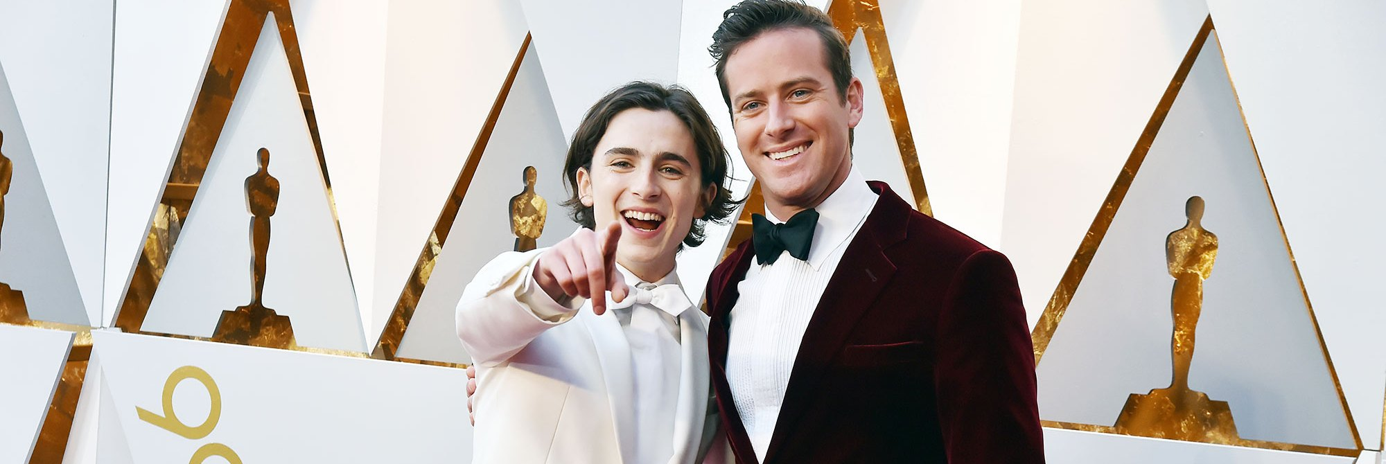 Timothee Chalamet Armie Hammer Oscars 2018