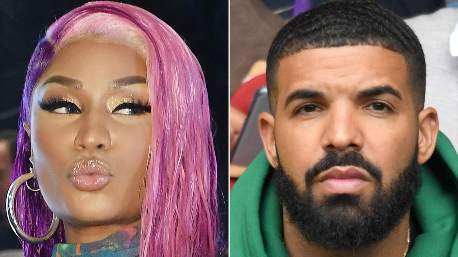 518ea06ea19bb Twitter Is Convinced Nicki Minaj Is Dissing Drake in Her 'Hard White' Music  Video