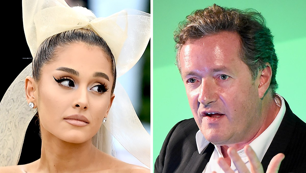 Ariana Grande, Piers Morgan End Feud: 'Turns Out We Really Like Each Other'