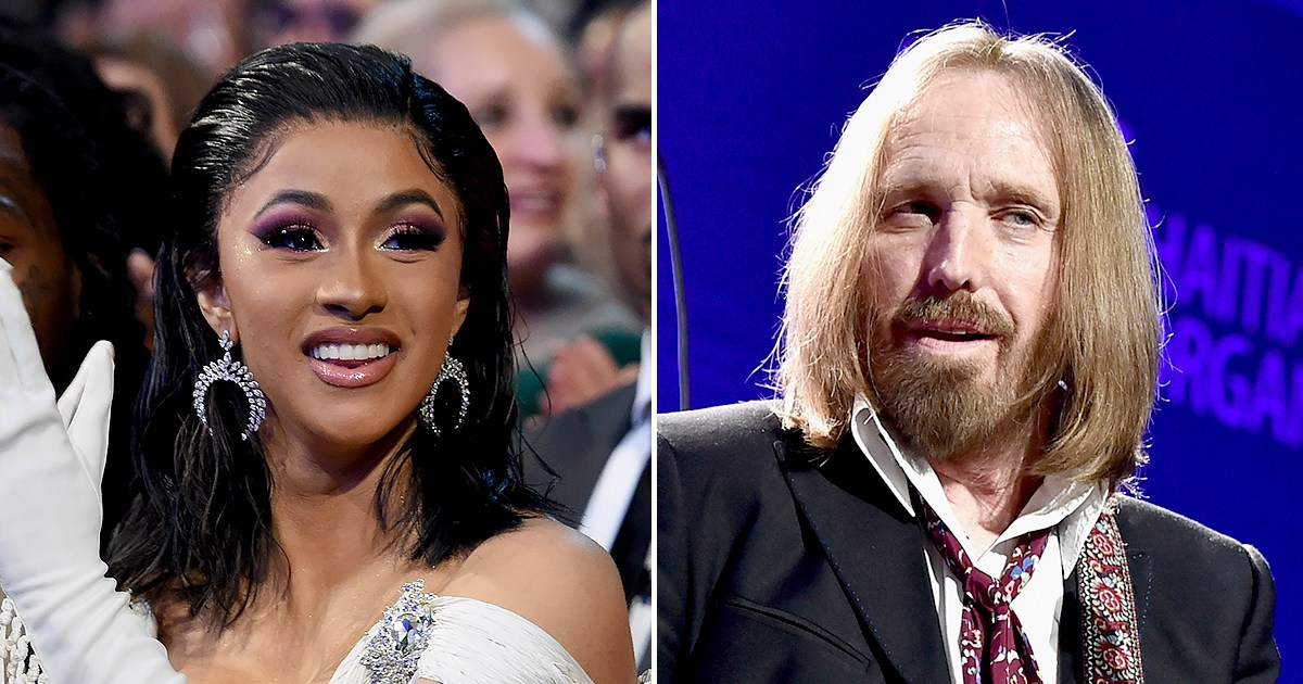 Cardi B Thanks Tom Petty for Sending Her Flowers, Doesn't Know He Died