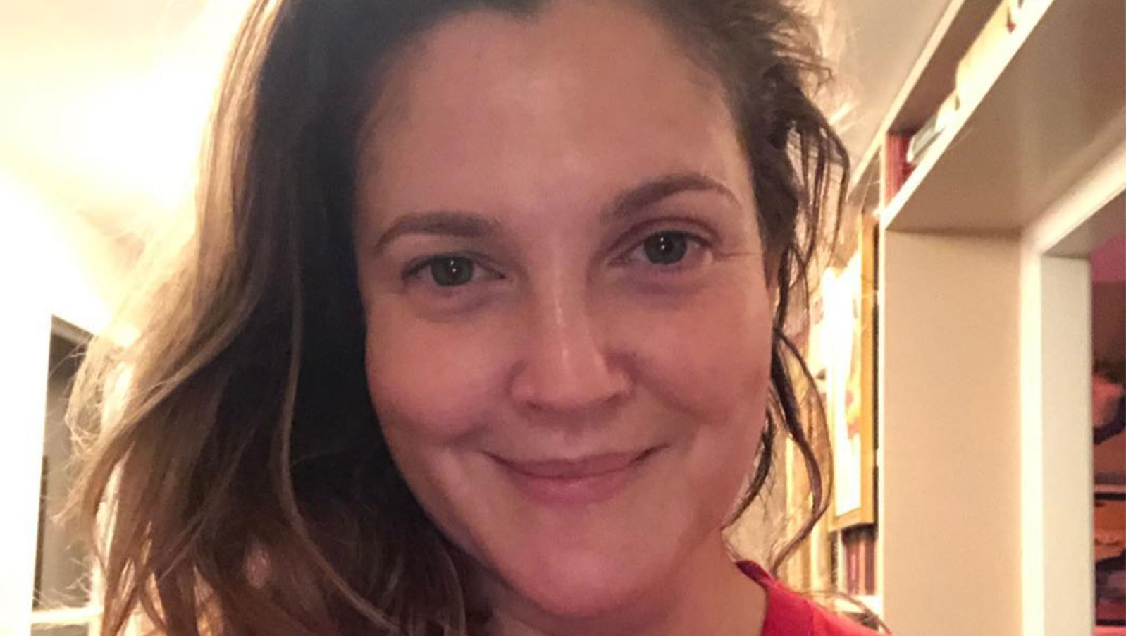 Drew Barrymore, 44, Gives One of the All-Time Best No-Makeup Celeb Selfies