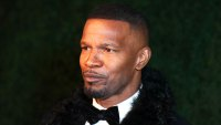 Jamie Foxx Says He's Single at Charity Oscars Gala