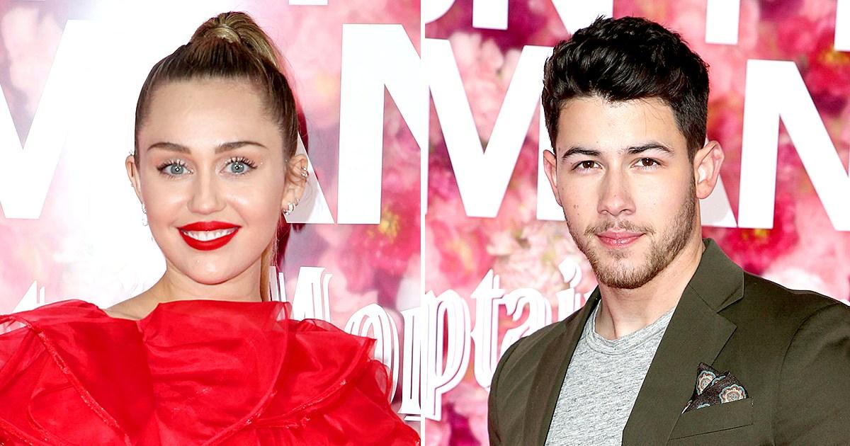 Miley Cyrus and Ex-Boyfriend Nick Jonas 'Didn't Interact' at the 'Isn't It Romantic' Premiere