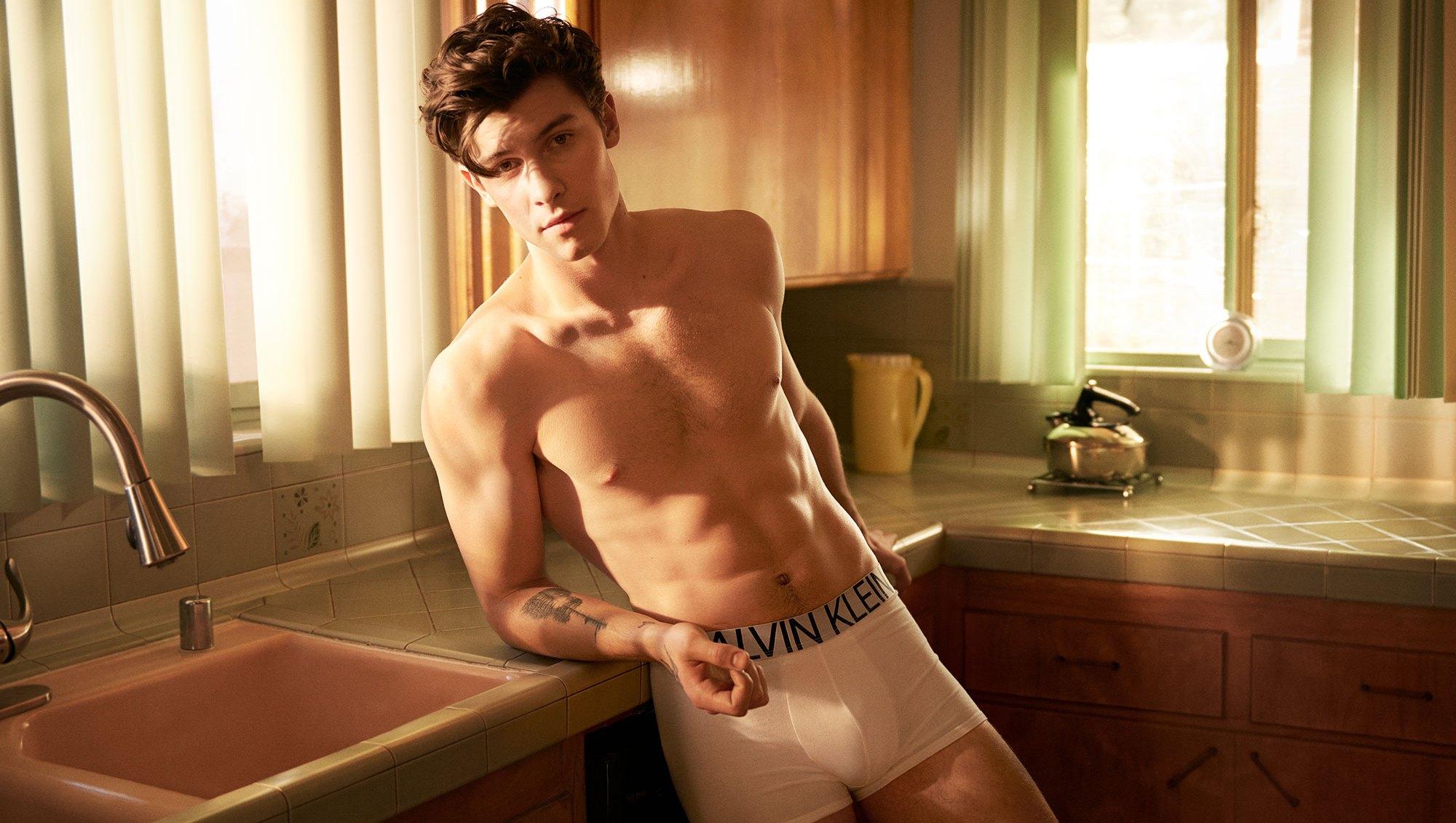 Calvin Klein exclusive shane mendes
