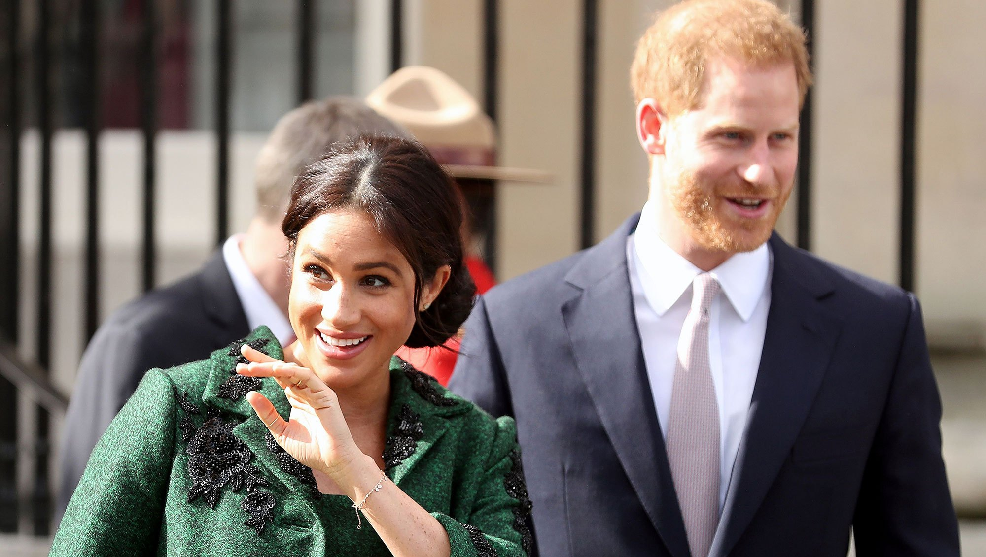 Pregnant Duchess Meghan Prince Harry Commonwealth Day