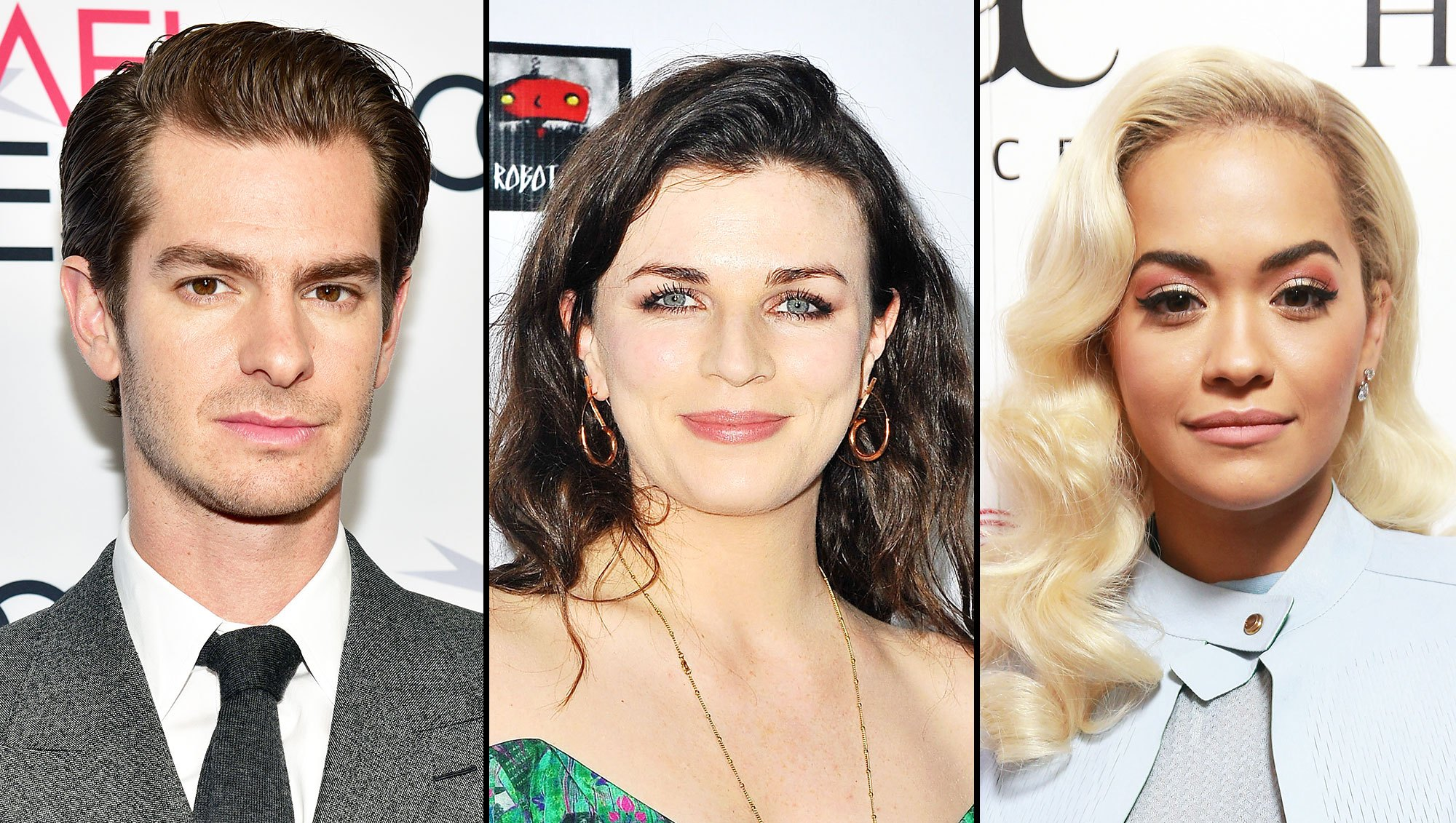 Andrew Garfield Cozy Aisling Bea Rita Ora Split