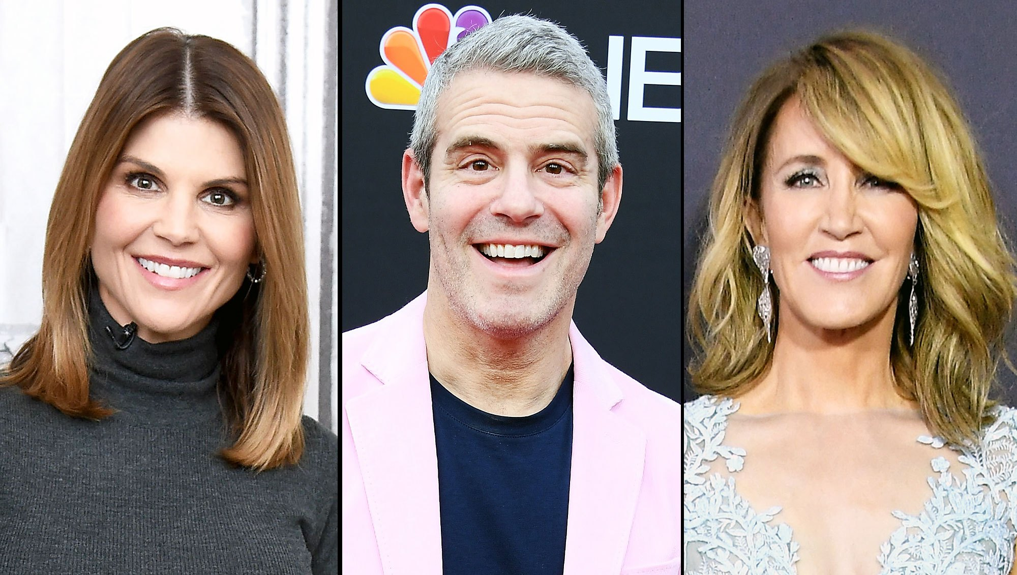 Andy Cohen Reacts Lori Loughlin Felicity Huffman Fake Real Housewives Taglines