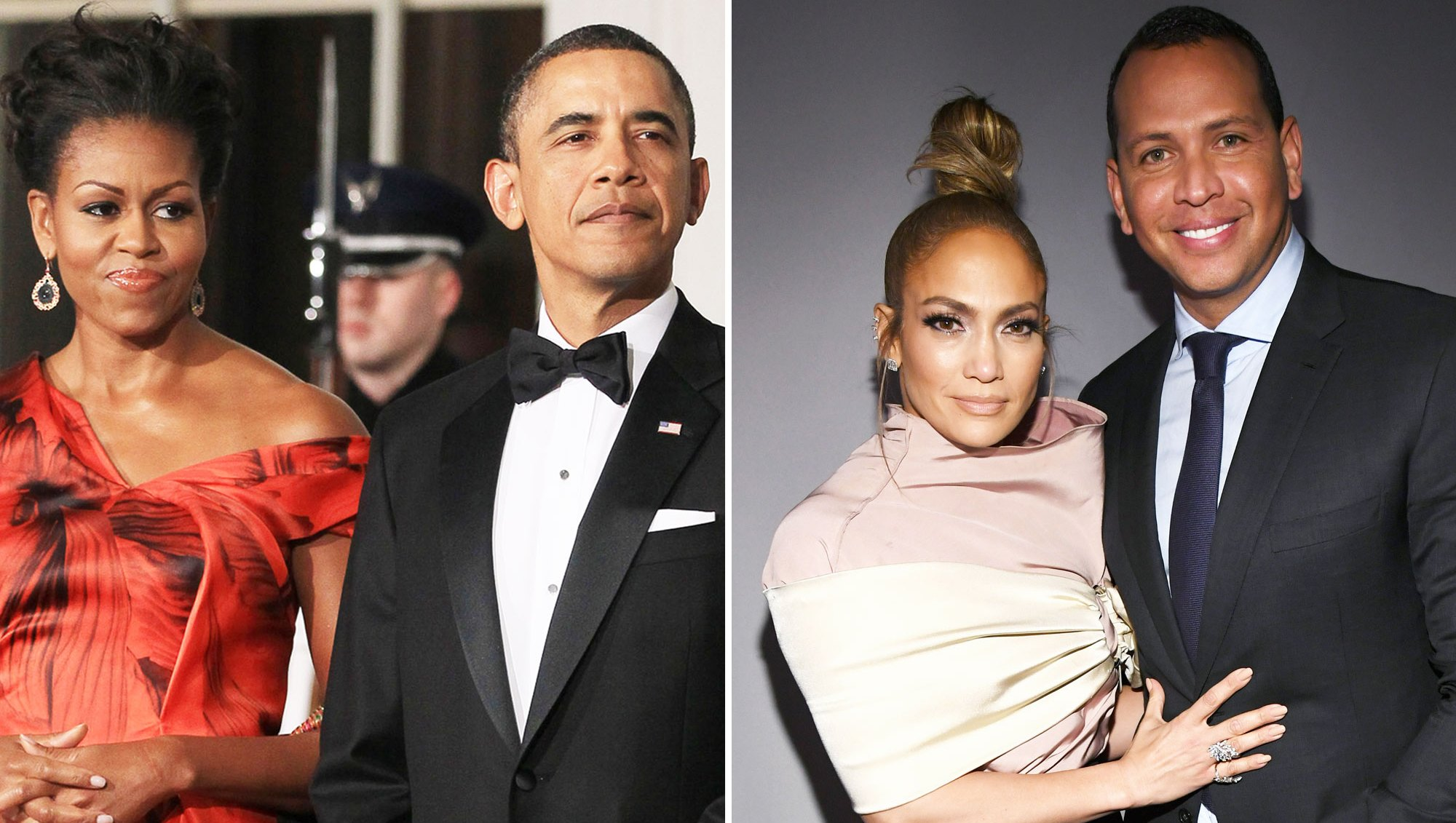 Barack and Michelle Obama Send Jennifer Lopez and Alex Rodriguez a Handwritten Note on Engagement