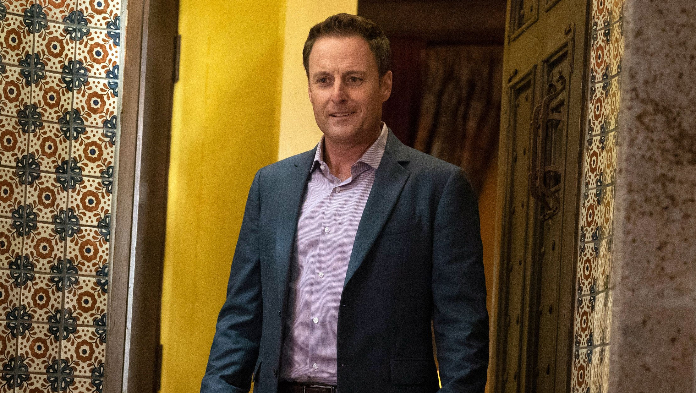 Chris Harrison Returns 'Home' to the 'Bachelor' Mansion Nearly 5 Months After Malibu Wildfires: 'More Grateful Than Ever'