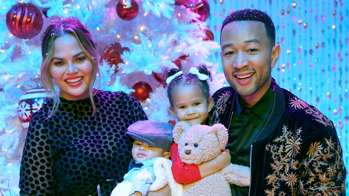 63787725f Chrissy Teigen and John Legend Show Off Matching Tattoos Honoring Their  Marriage and Children Luna and Miles