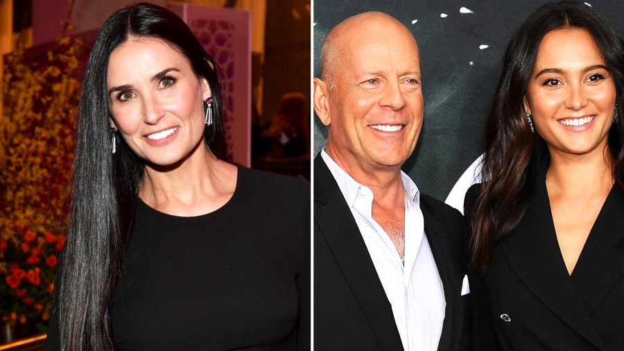 Demi Moore Attends Ex-Husband Bruce Willis' Vow Renewal to Emma Heming