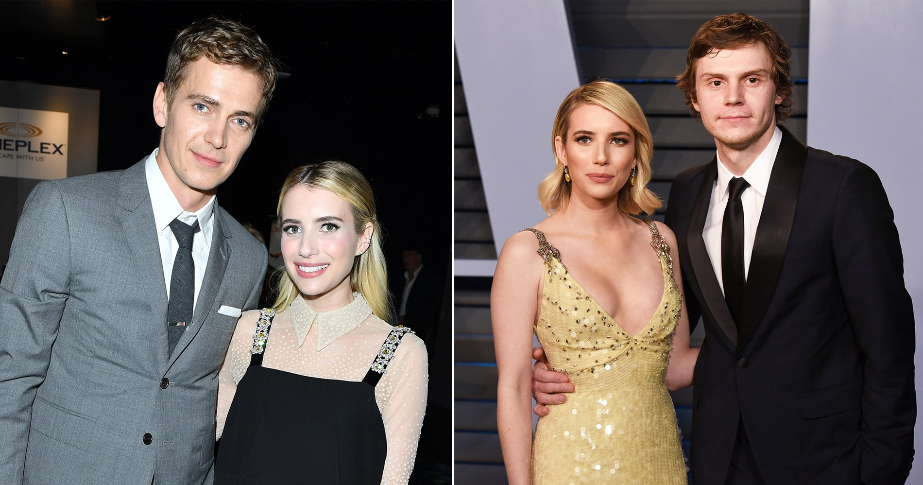 From Alex Pettyfer to Evan Peters: Emma Roberts' Dating History