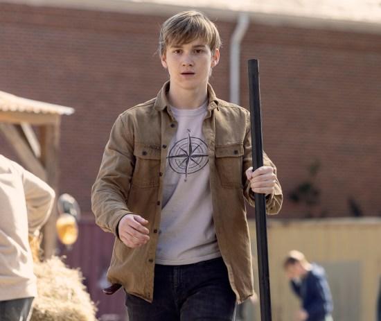Matt Lintz as Henry on The Walking Dead
