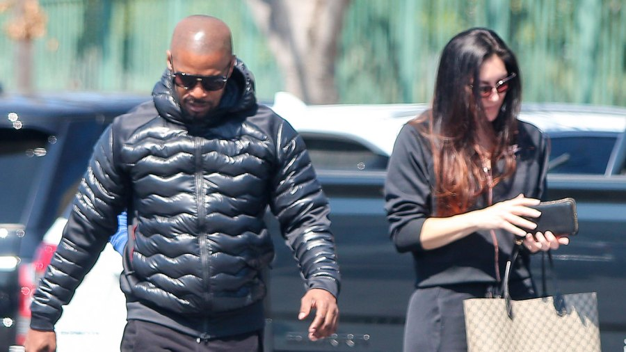 Jamie Foxx Reunites With Ex Kristin Grannis After Saying He's 'Single'