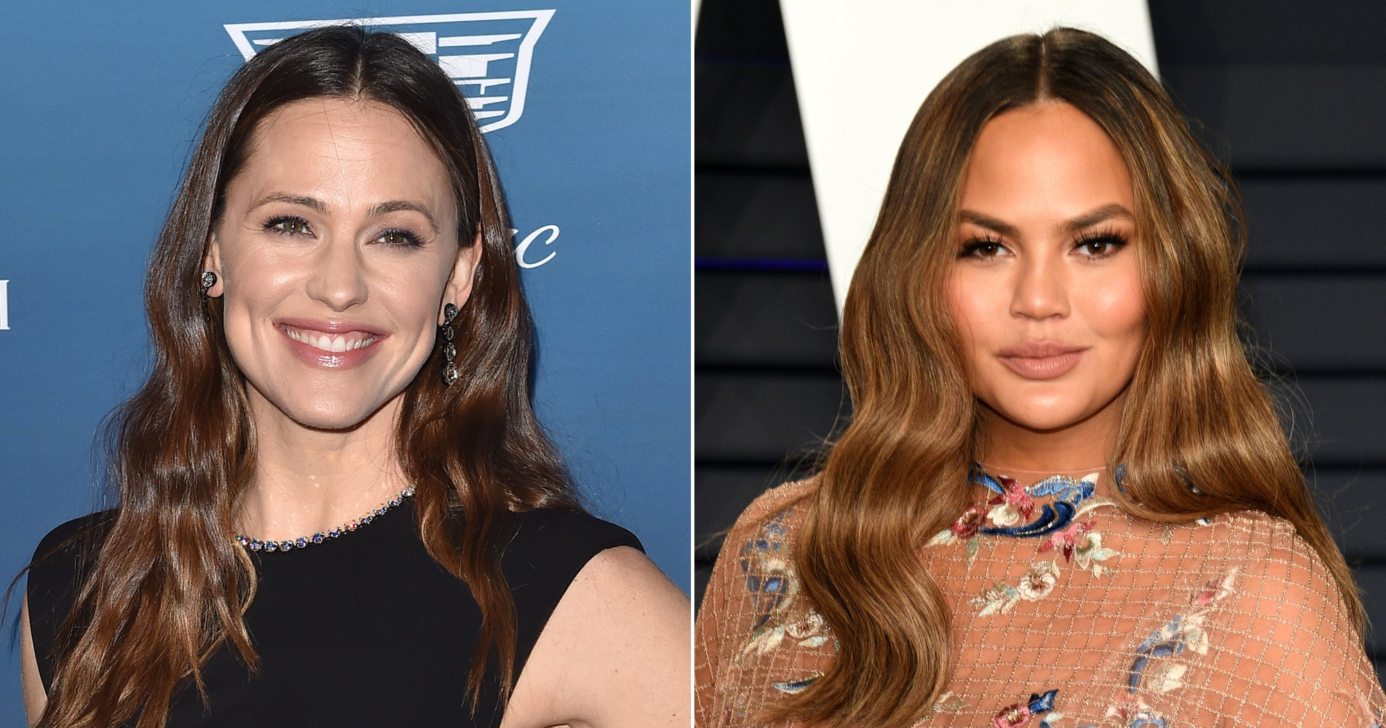Jennifer Garner Tells Chrissy Teigen Not to Steal Her Nanny