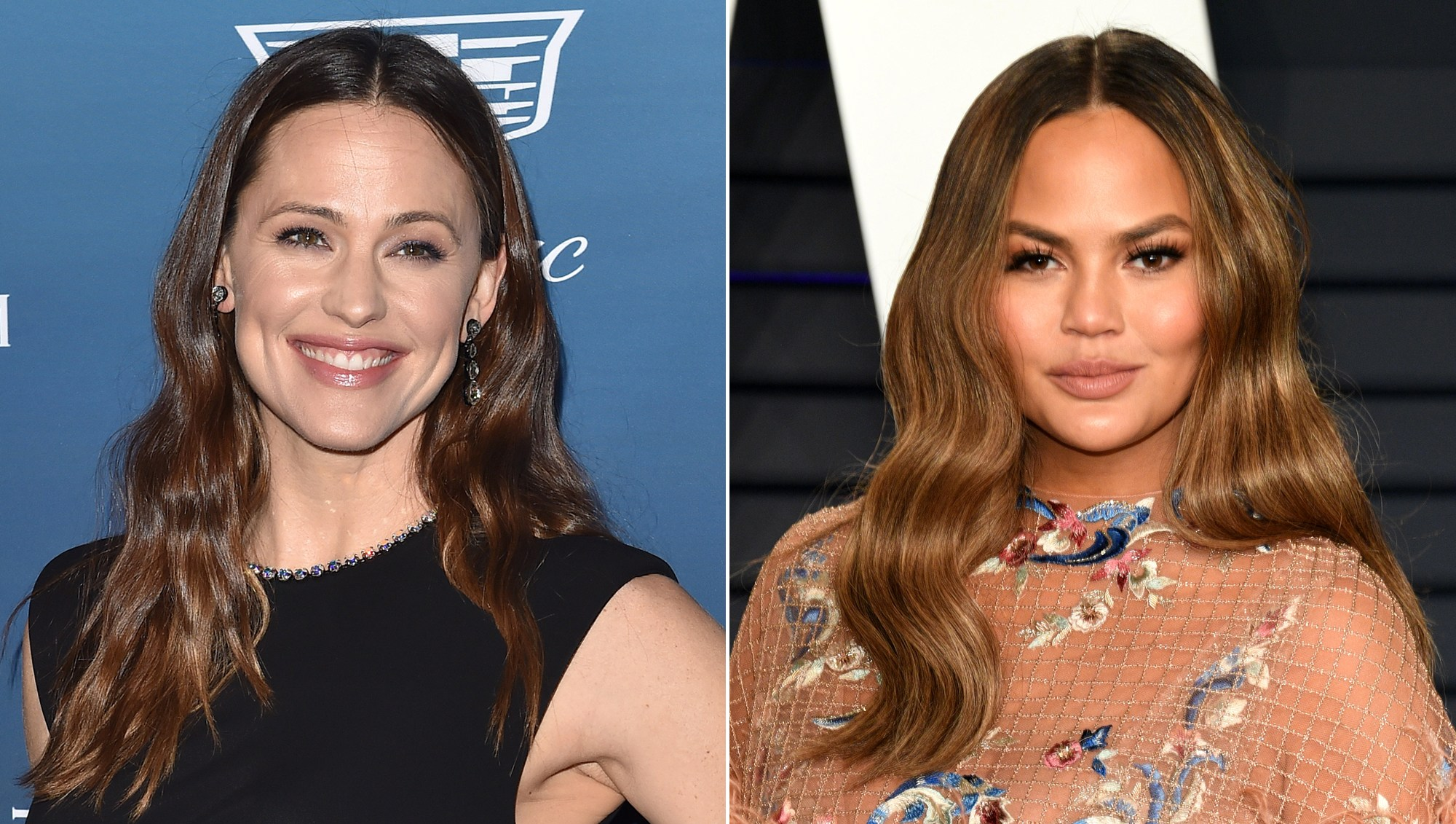 Jennifer Garner Jokes to Chrissy Teigen 'to Not Get Any Ideas' About Stealing Her Nanny From Her