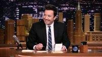 Jimmy Fallon Poses With Avocado Toast