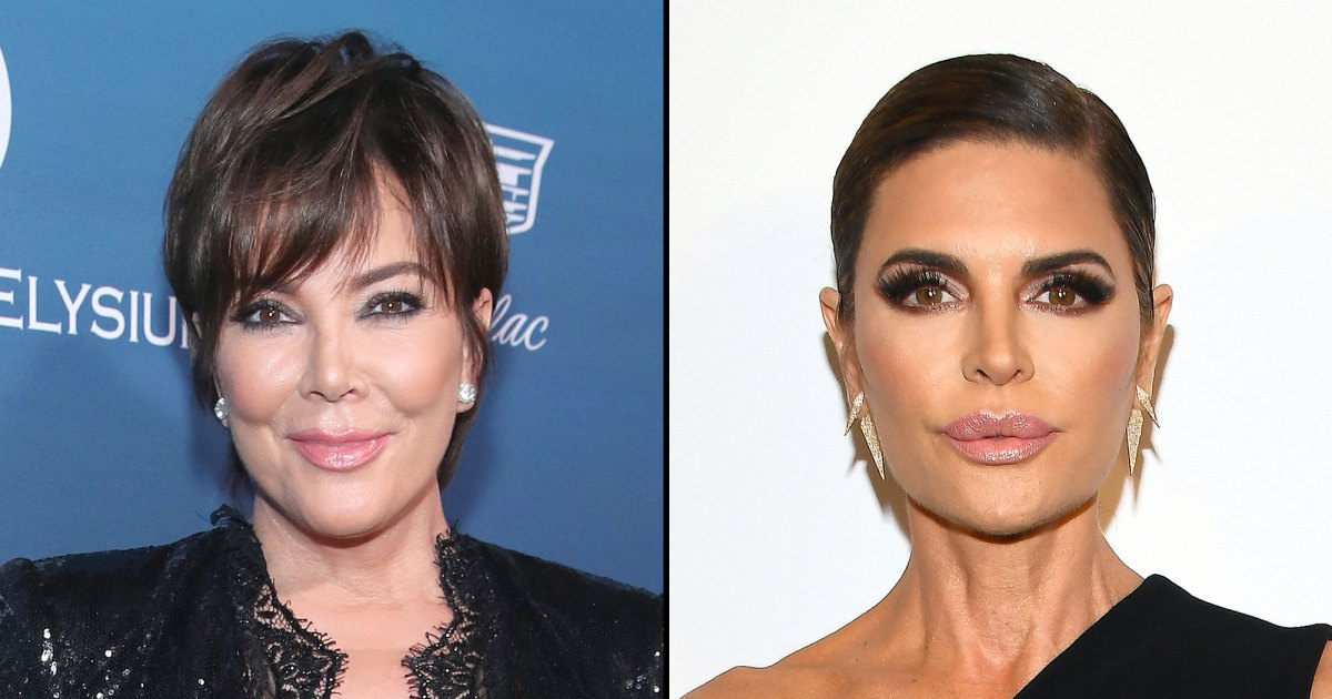 Superheroes! Kris Jenner and Lisa Rinna Team Up for 'Captain Marvel' Ad