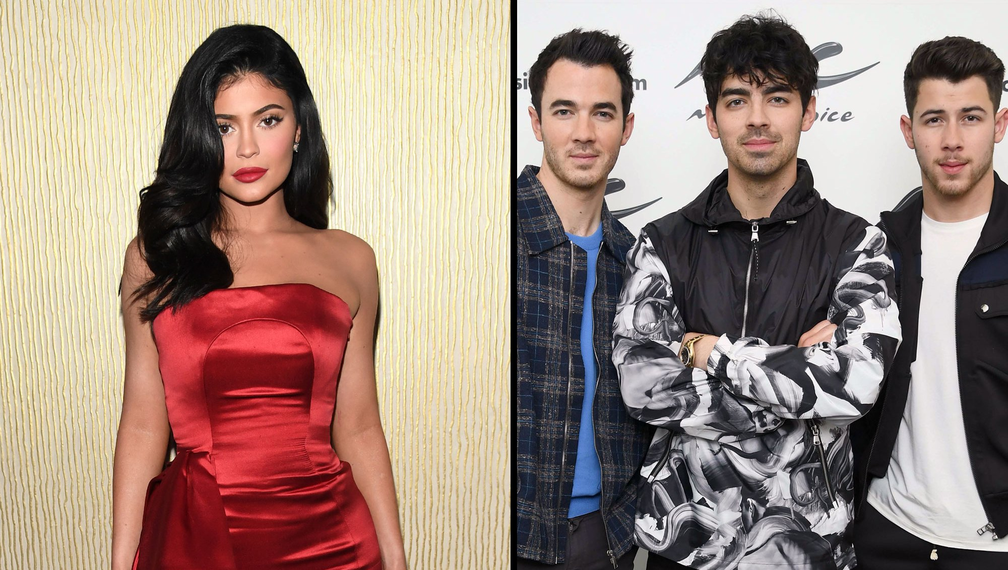 Kids Choice Awards Kylie Jenner and Jonas Brothers a
