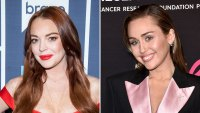 Lindsay Lohan Leaves Silly Comment on Racy Miley Cyrus Photo